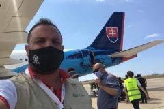 Prvá tona pomoci ADRA je už v Bejrúte