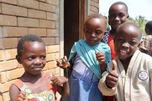 Deťom v Ugande